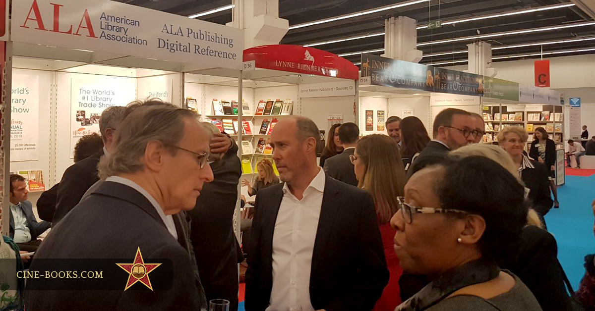 CINE-BOOKS at the Frankfurt Book Fair: bright impressions, positive feedback.