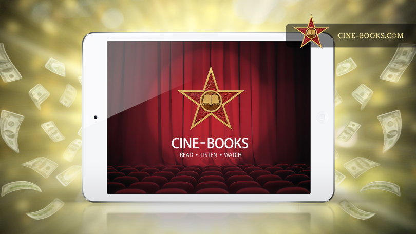 Benefits and perks of publishing in the cine-book format. (cover)