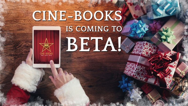 CINE-BOOKS is coming to BETA (cover)