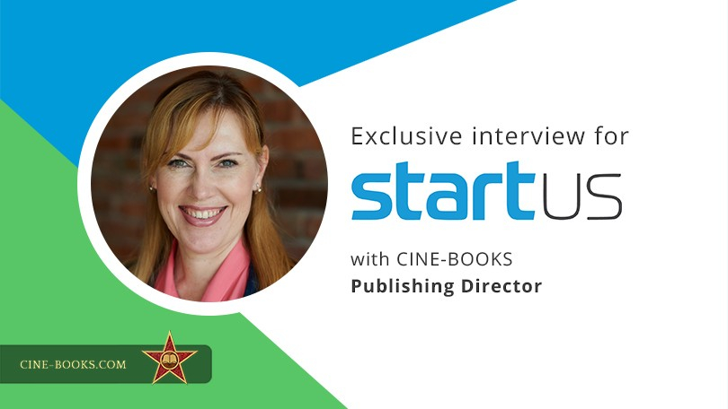 """Don't be afraid to tell people about your idea."" CINE-BOOKS Publishing Director is featured in the"