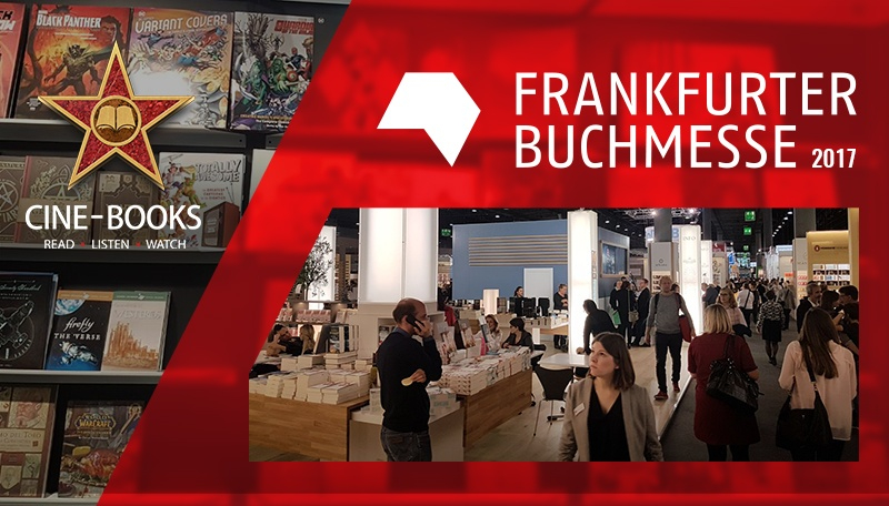 CINE-BOOKS at the Frankfurt Book Fair: bright impressions, positive feedback.  (cover)