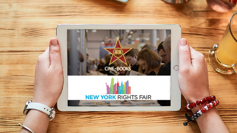 Any challenges in digital publishing? Let's find solutions at The New York Rights Fair 2018! (cover)