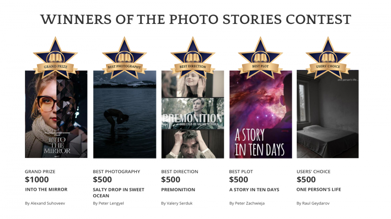 Meet the winners of the Photo Stories Contest  (cover)